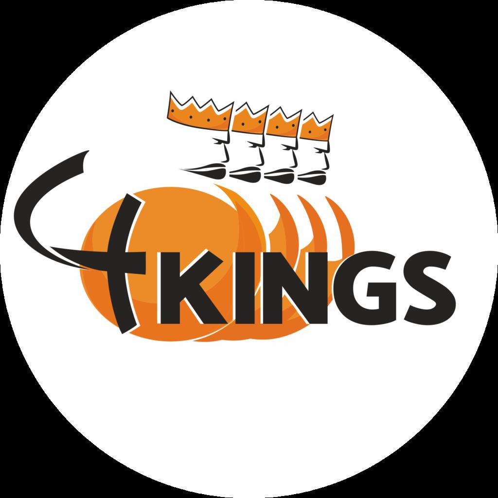 Grafikę czterech Króli napis four kings